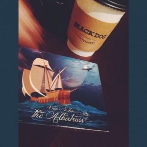 Sinha's CD The Albatross at Black Dog Coffee House